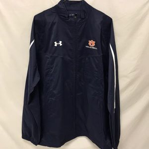 AUBURN FULL ZIP UNDER ARMOUR JACKET